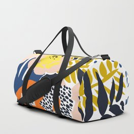 More design for a happy life Duffle Bag