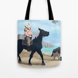 Quiet Warrior Tote Bag
