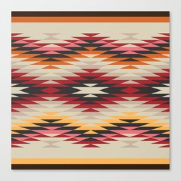 American Native Pattern No. 178 Canvas Print