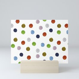 Pinpoint Dots Mini Art Print