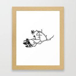 Crepe Myrtle II Framed Art Print