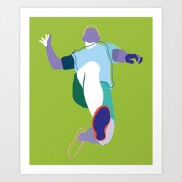 Runner A Art Print
