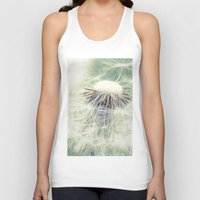 weed Tank Tops featuring a weed by Bonnie Jakobsen-Martin