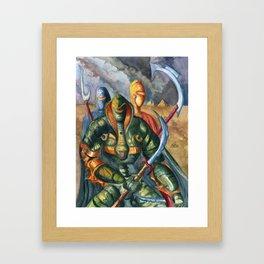 The Serpentine Trio Framed Art Print