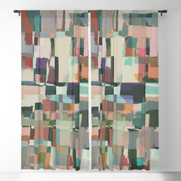 Abstract Painting No. 8 Blackout Curtain