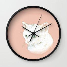 Cutie Catty Wall Clock