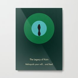 Legacy of Kain Triptych :: The Elder God Metal Print