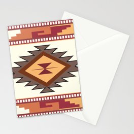American Native Pattern No. 85 Stationery Cards