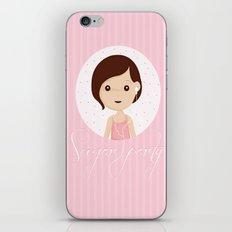 Sugarparty iPhone & iPod Skin