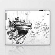 Piano Death Laptop & iPad Skin