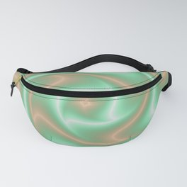 Ariele's Peach Abstract Fanny Pack