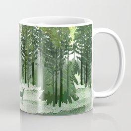 Green Forest Coffee Mug