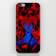 Blue Warrior iPhone & iPod Skin