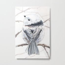 Tit bird Metal Print