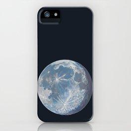 Moon Portrait 6 iPhone Case