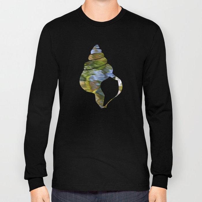 Sycamore Mosaic Abstract Art Long Sleeve T-shirt