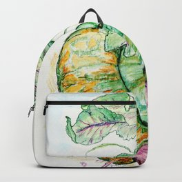 Red Beets and Squash Backpack