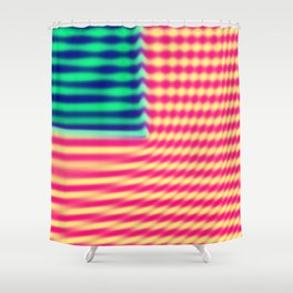 Quantum USA Shower Curtain
