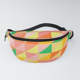 Geometric Citrus Pattern Fanny Pack