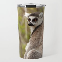 Ring Tailed Lemur Madagascar Travel Mug