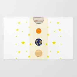Solar System #society6 #decor #buyart #artprint Rug