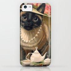 Lady Cat Slim Case iPhone 5c