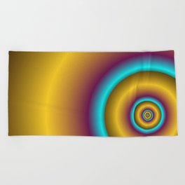 for yoga and more -32- Beach Towel