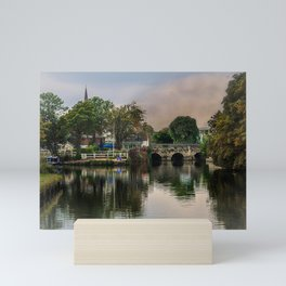 Above The Bridge In Abingdon Mini Art Print