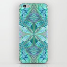 Abalone Shell Nautilus Kalidescope iPhone Skin