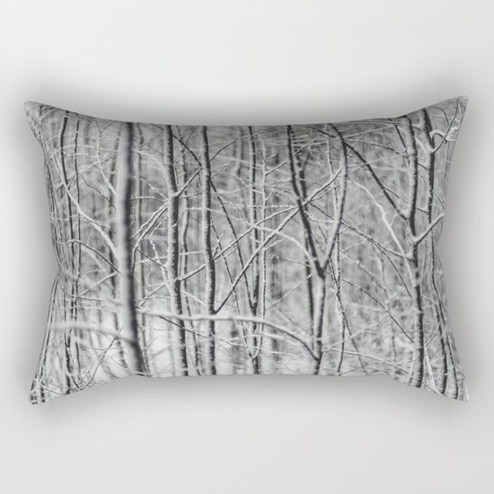 Frosted Forest Rectangular Pillow