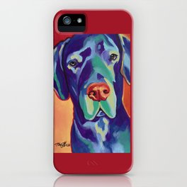 Gus the Great Dane iPhone Case