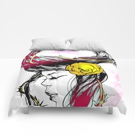 Rose Thorn Comforters