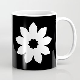 Vector Flower Coffee Mug