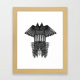 Take a flying leap Framed Art Print