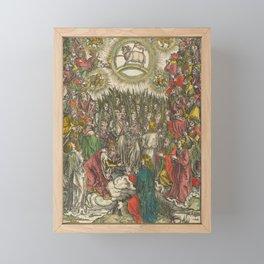 Albrecht Dürer - The Apocalypse (1498) - The Whore of Babylon Framed Mini Art Print