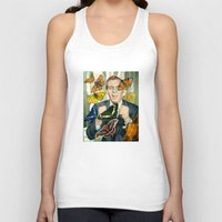 wings Tank Tops featuring Wings by Peter Campbell
