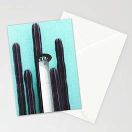 Cactus Tower Stationery Cards