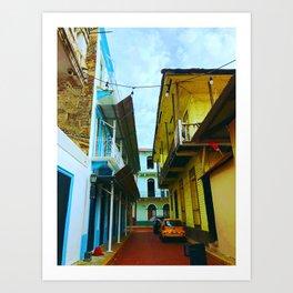 Colorful Casco Art Print