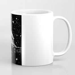 Snowfall at Night (Owl) Coffee Mug