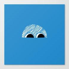 Block Eyes Canvas Print