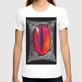 Eye of The Dragon Jewel in Black T-shirt
