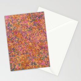 Marbled Speckles - Green Stationery Cards