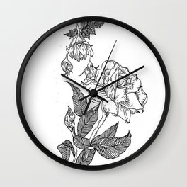 I Dont Like You Wall Clock