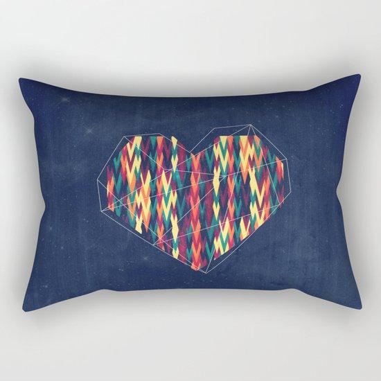 Interstellar Heart Rectangular Pillow