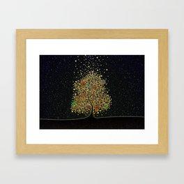The Luminous Tree Framed Art Print