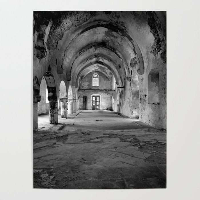 A derelict churh in Northern Cyprus Poster