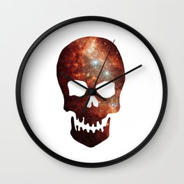 Gallexy Skull Wall Clock