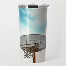 basketball hoop 8 Travel Mug