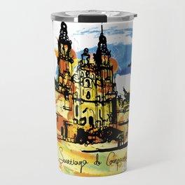 santiago  camino Travel Mug