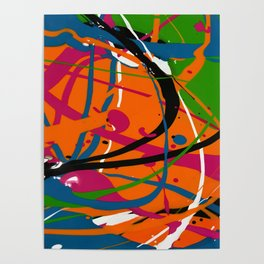 Wet Paint no. 04 Poster